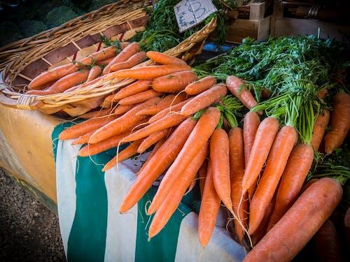 Foto profissional grátis de alimento, cenouras, comida natural, fabricar