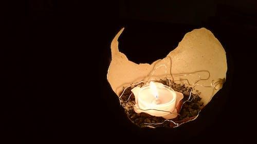 光, 晚上, 浪漫的, 火 的 免费素材照片