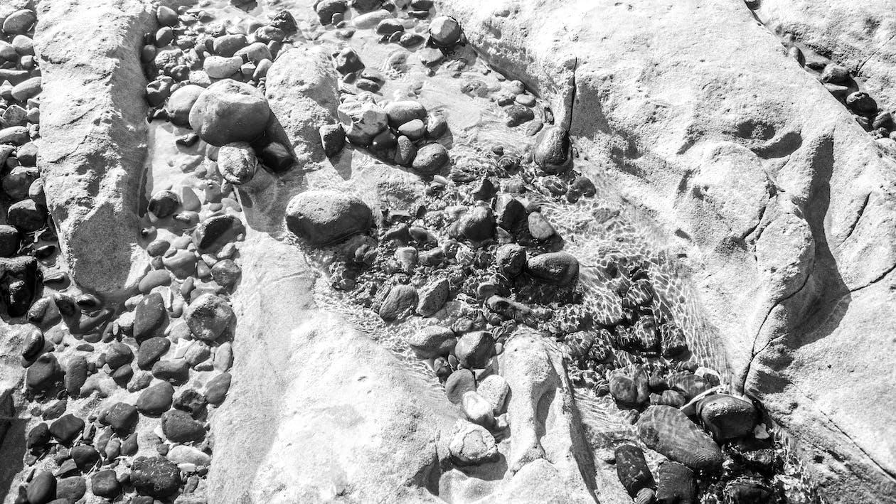 ビーチ, ロッキーショア, 岩