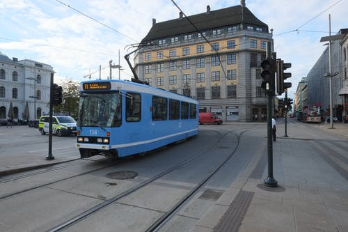 A Tramway in Oslo