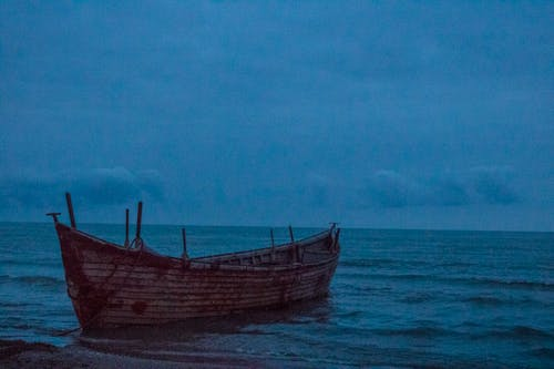 Kostenloses Stock Foto zu blaues meer, boot, fischerboot