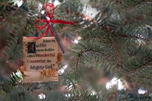 Gratis arkivbilde med jesaja, jesus, julekort, juleornament