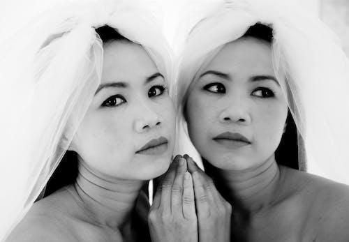 Free stock photo of asian woman, bride, model