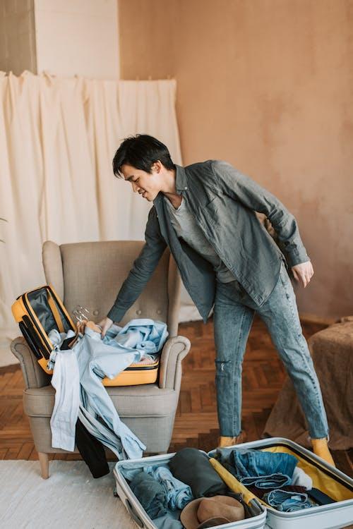 Immagine gratuita di abiti, bagagli, confezione