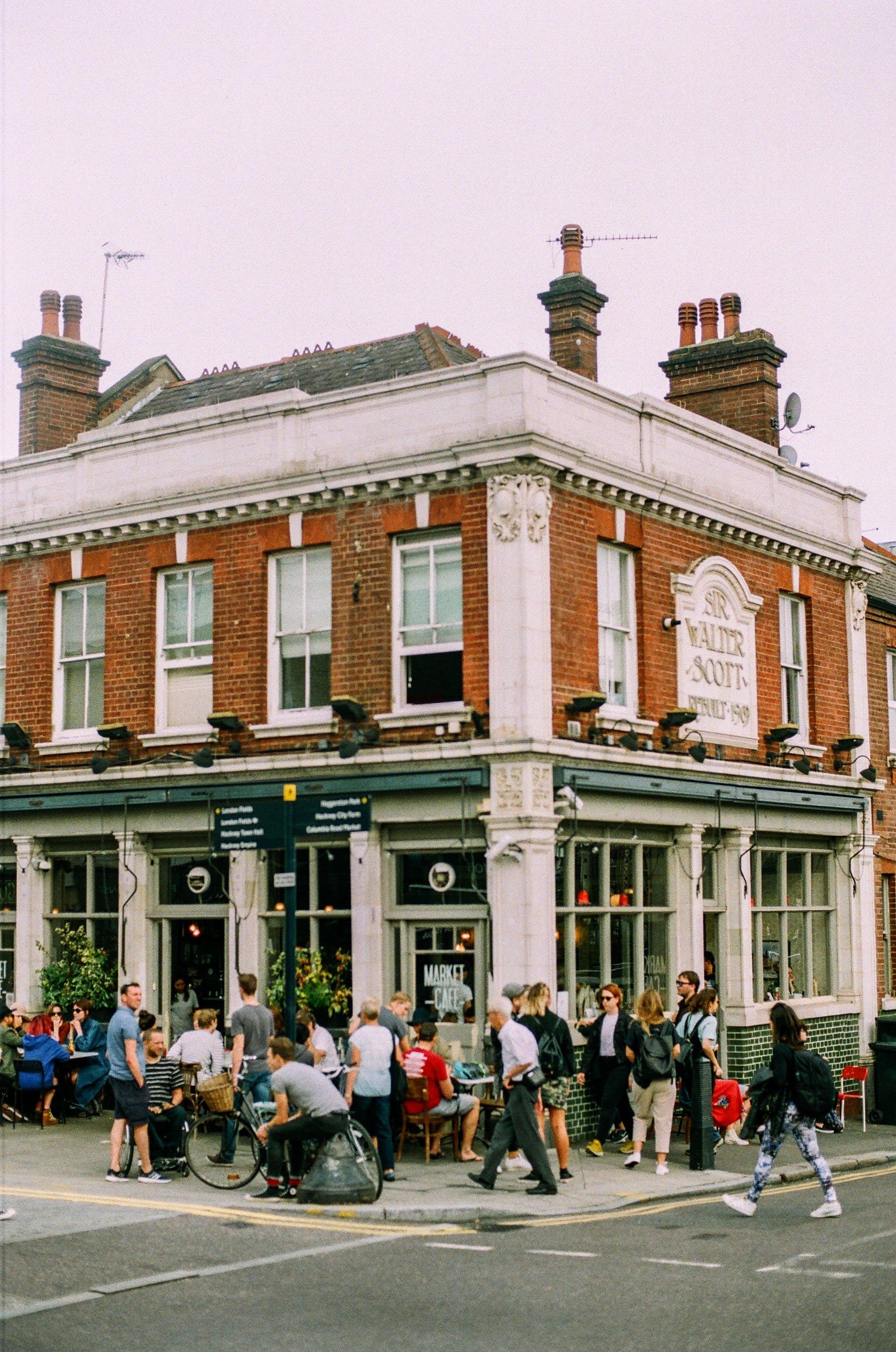 シティ, タウン, ブロードウェイマーケット, ロンドンの無料の写真素材
