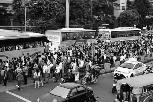 Ilmainen kuvapankkikuva tunnisteilla ihmiset, julkinen liikenne, kiireinen, paranaque
