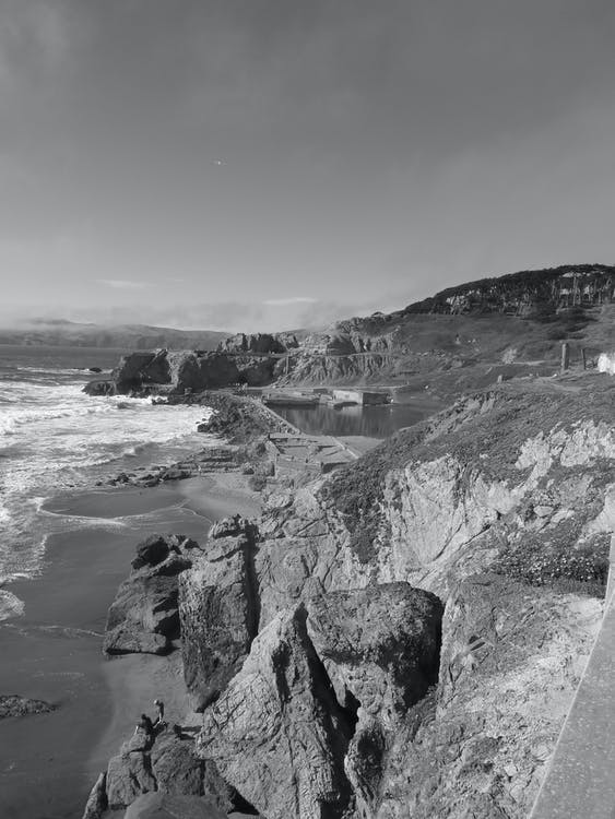 Free stock photo of cliffs, san francisco