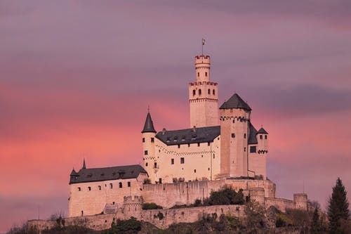 Free stock photo of castle, evening sun, historical