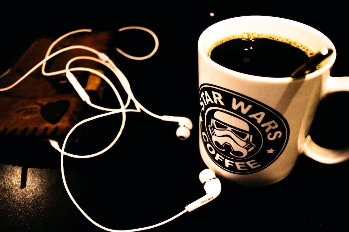 一杯咖啡, 咖啡, 咖啡因
