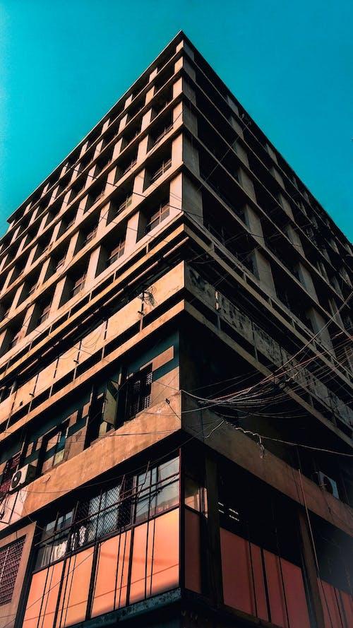 ガラスアイテム, ガラス窓, シティ, モダンの無料の写真素材