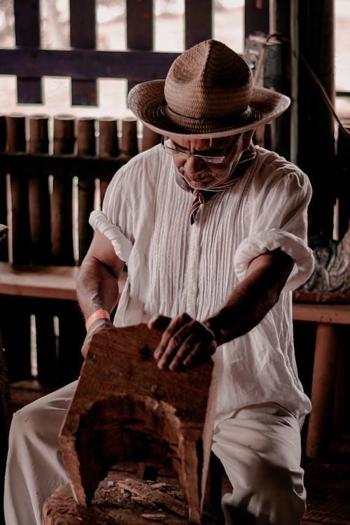 Immagine gratuita di cappello, falegname, la lavorazione del legno