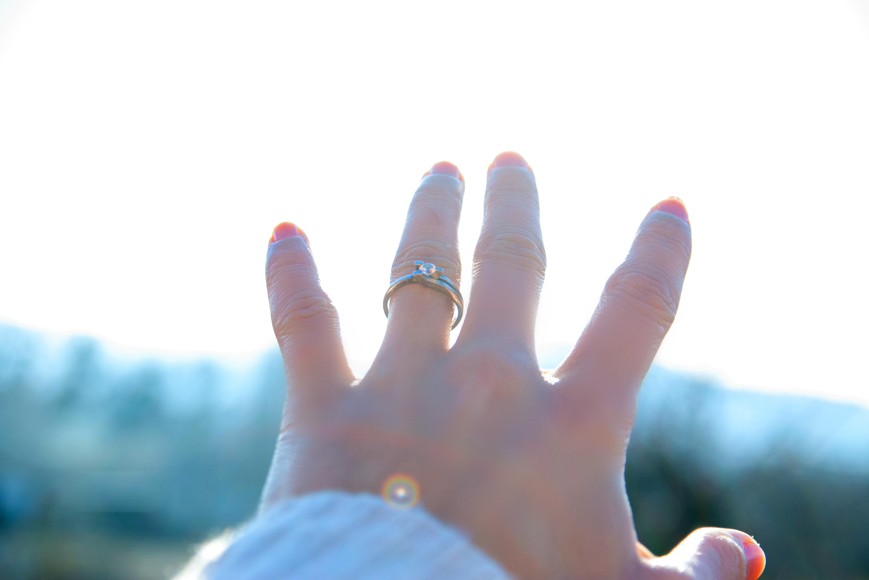 Free stock photo of engagement ring