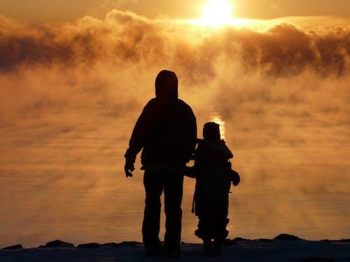 가족, 경치, 박무, 새벽의 무료 스톡 사진