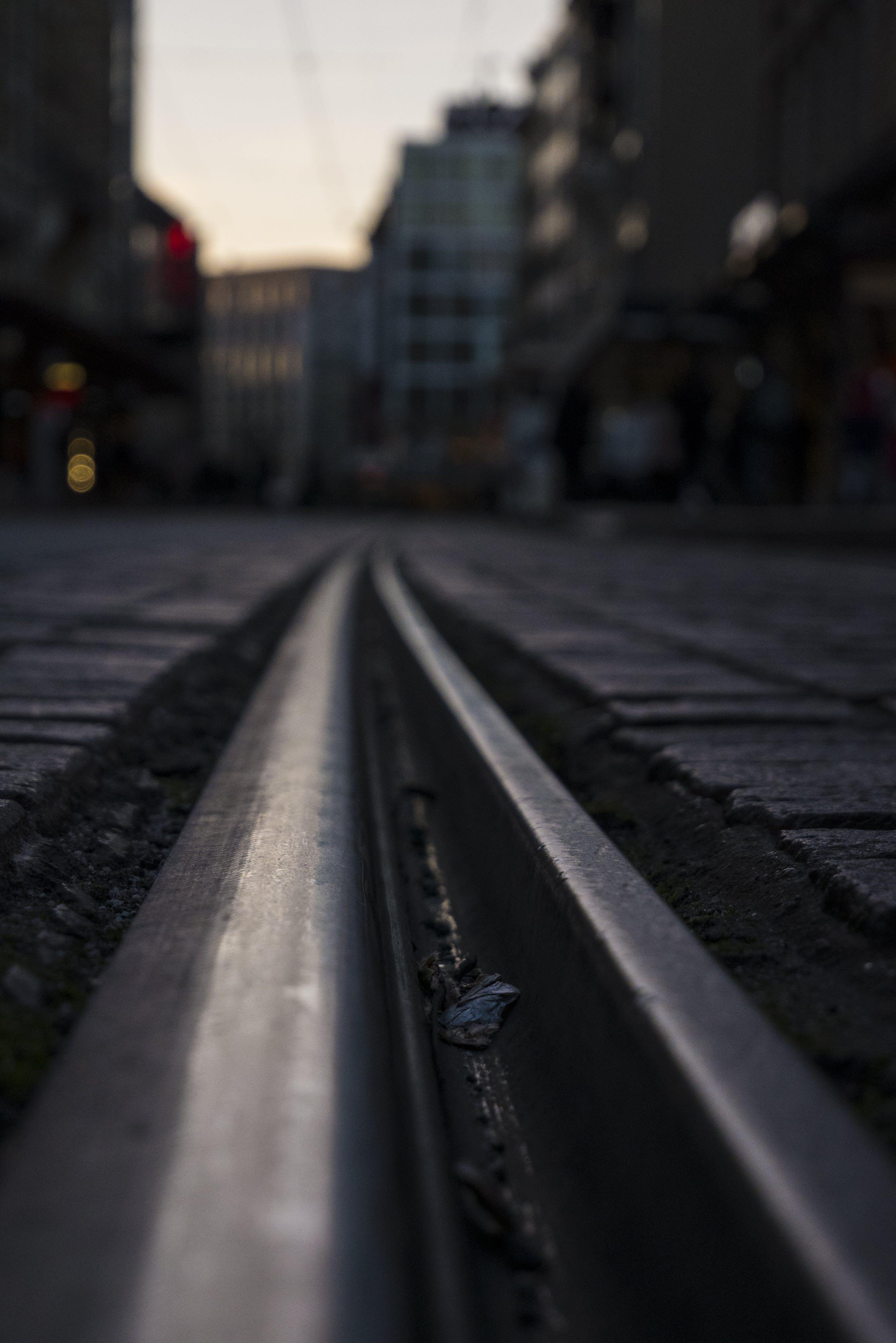 Free stock photo of city, switzerland, train, train tracks