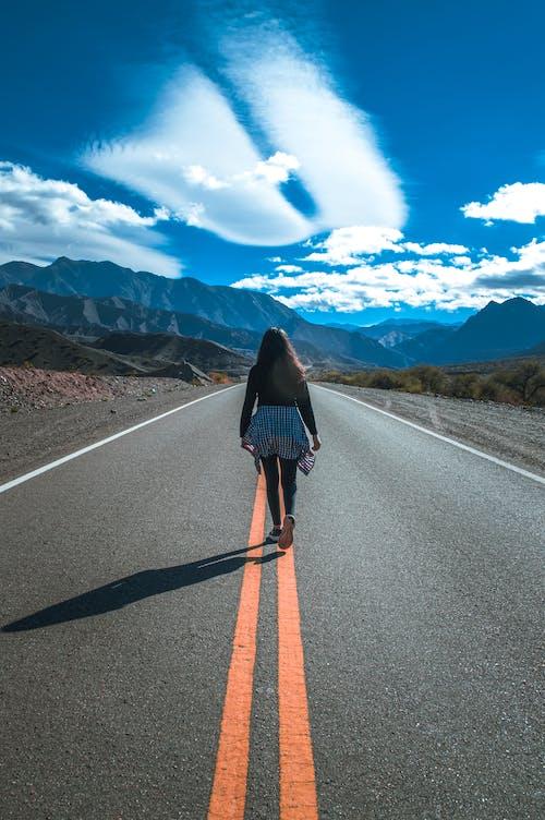 Free stock photo of asphalt, challenge, desert
