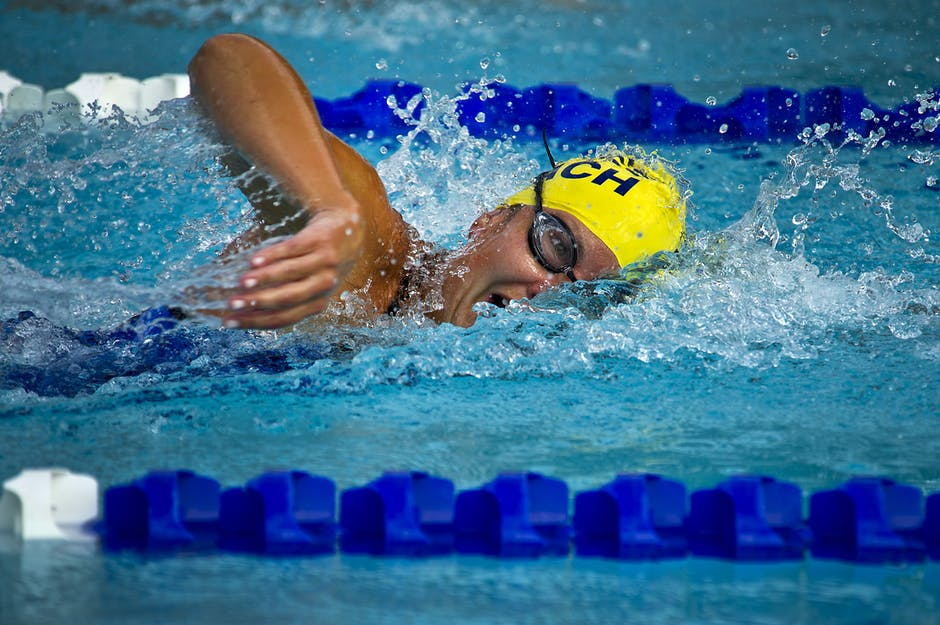a personal recount on swimming racing