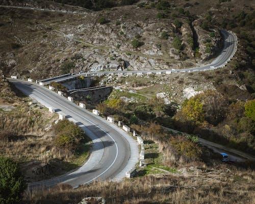 Základová fotografie zdarma na téma hora, horská silnice, madridské silnice