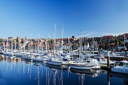 Photos gratuites de bateaux, eau, quai, yachts