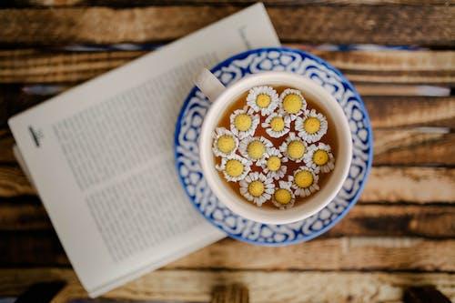 Chamomile Flowers in an Herbal Tea