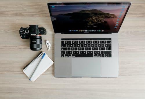 DSLR, 가젯, 공책의 무료 스톡 사진