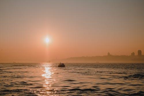 A Beautiful Ocean View Sunset