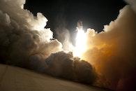 smoke, launch, space shuttle