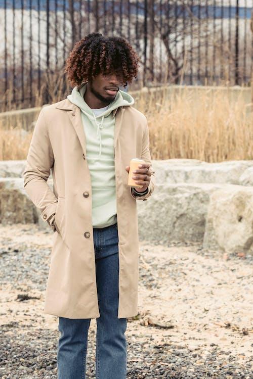 Ingyenes stockfotó afro-amerikai férfi, borotválatlan, divat témában
