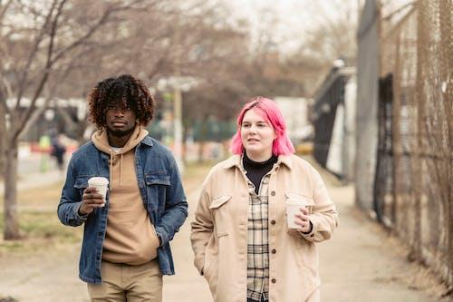 アフリカ系アメリカ人, ガールフレンド, カジュアルの無料の写真素材