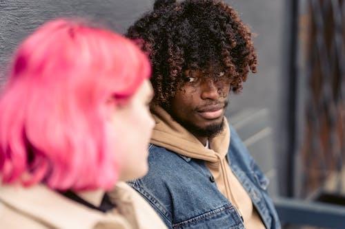 あごひげ, アフリカ系アメリカ人, ガールフレンドの無料の写真素材
