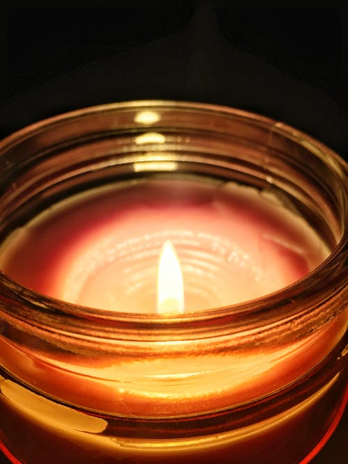 Kostnadsfri bild av flamma, fotografi, glas, glasburk