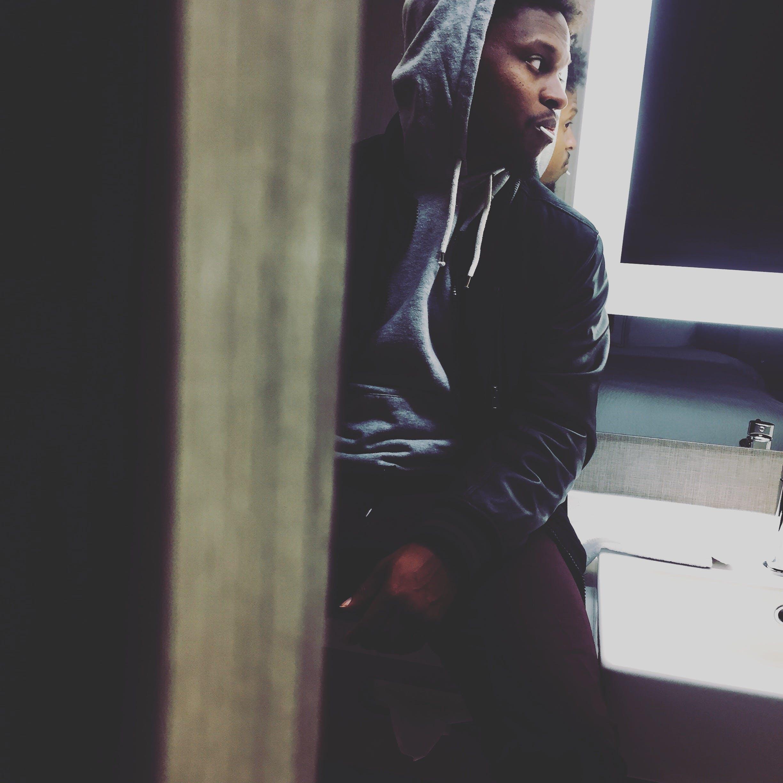 Man In Grey Pullover Hoodie