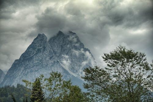 空, 雲, 霧が多いの無料の写真素材