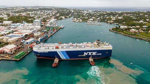 Free stock photo of atlantic ocean, bermuda, blue
