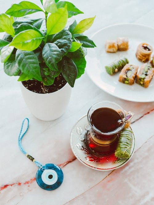 Free stock photo of baklava, bayram, breakfast
