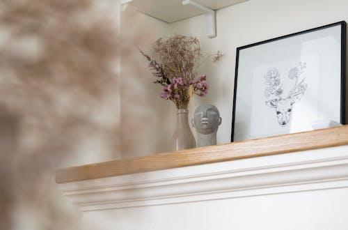 Бесплатное стоковое фото с в помещении, ваза, веточка