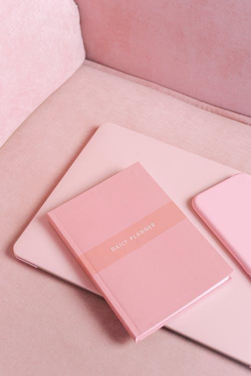 Pink Tablet Computer Case on Pink Textile