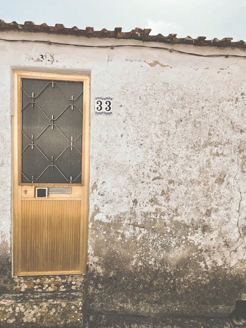 Free stock photo of 33, door, golden door