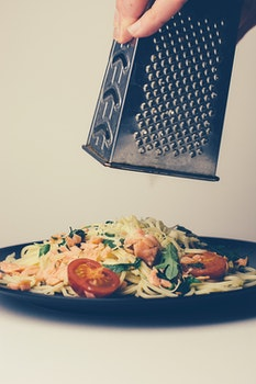 Free stock photo of food, pasta, table, cheese