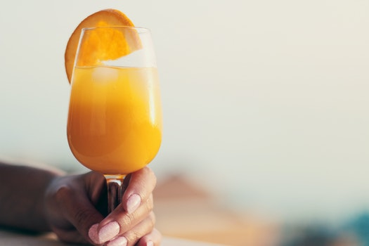 Free stock photo of cocktail, drink, glass, orange juice