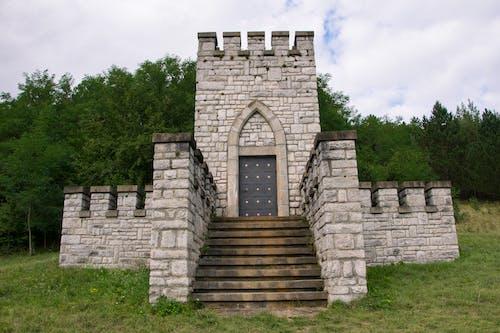 Foto stok gratis bangunan air, Kastil