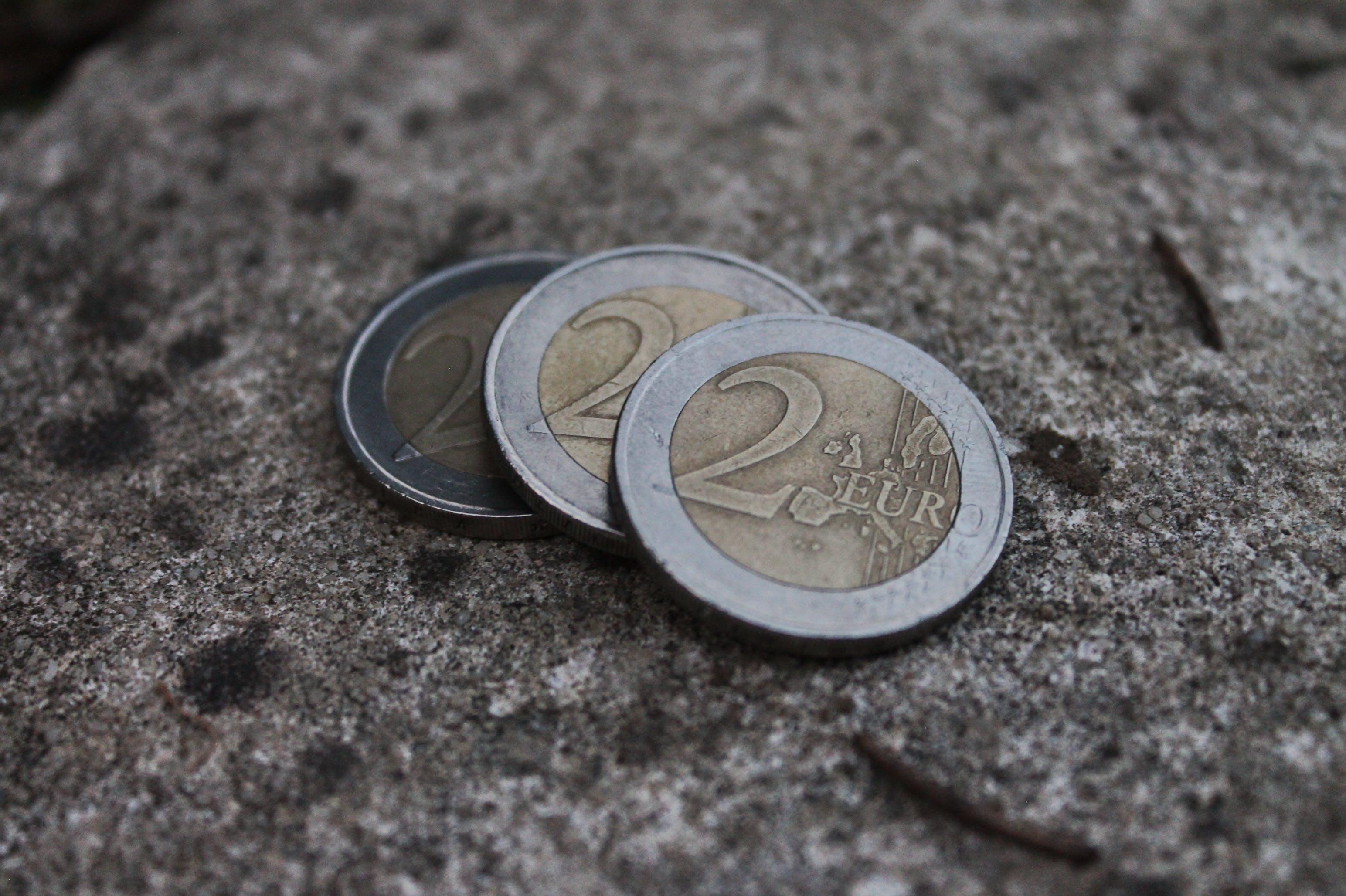 Free stock photo of 6 euros, eur, money