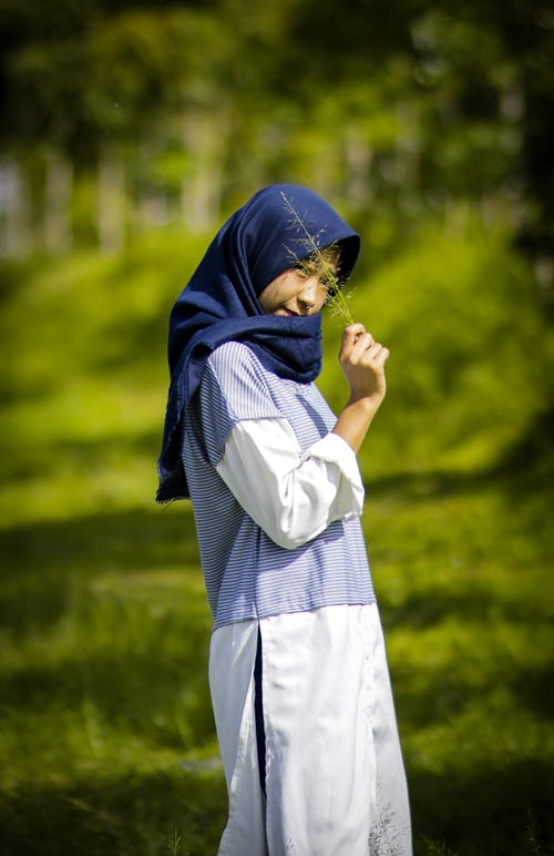 Free stock photo of accessory, grass, hdr, hijab