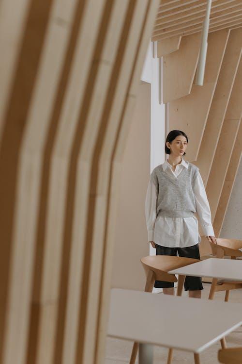 Ilmainen kuvapankkikuva tunnisteilla huonekalut, japandi, liivi