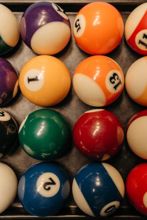 Immagine gratuita di biliardo, colori, gioco