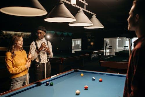 People Playing Billiards