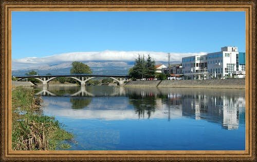 Free stock photo of Bridgge on the river Cetina