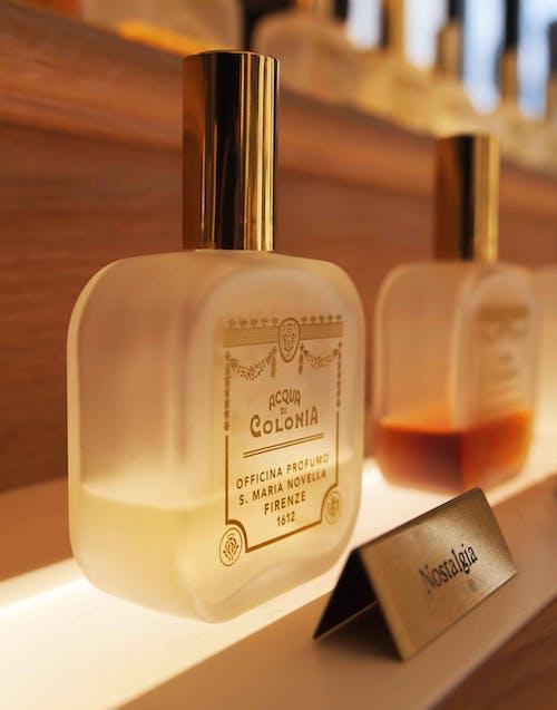 Perfume Bottles on Display