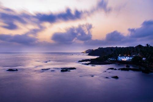 Foto stok gratis air, air biru, alam, awan