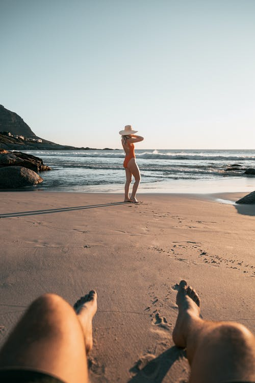Free stock photo of 2021, adult, barefoot