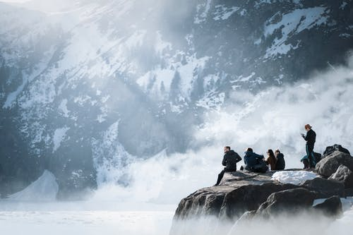 Photos gratuites de action, alpiniste, amies